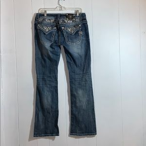 Miss Me lightly distressed jeans